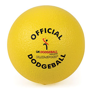 OFFICIAL UKDBA PLAYSPORT FOAM DODGEBALL