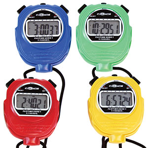 TEAM COLOURED STOPWATCHES