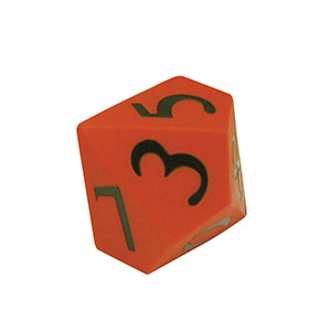 MULTI-SIDED PLATONIC PVC DICE