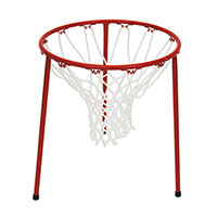 FLOOR STANDING BASKETBALL GOAL PAIR OF TRIPODS