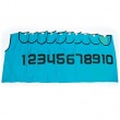 MESH TRAINING BIBS NUMBERED 1-10