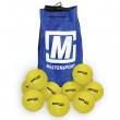 Pack Quantity: BAG OF 10,  Size: SIZE 4,  Colour: YELLOW