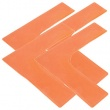 Pack Quantity: SET OF 4,  Colour: ORANGE