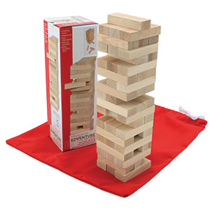 WOODEN TUMBLING BLOCKS