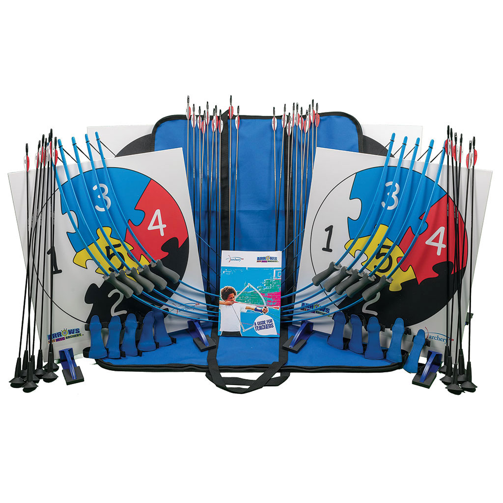 ARROWS ARCHERY TEN BOW PACK