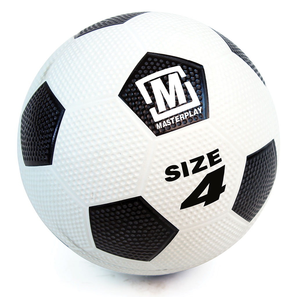 MASTERPLAY RUBBER DIMPLE FOOTBALL