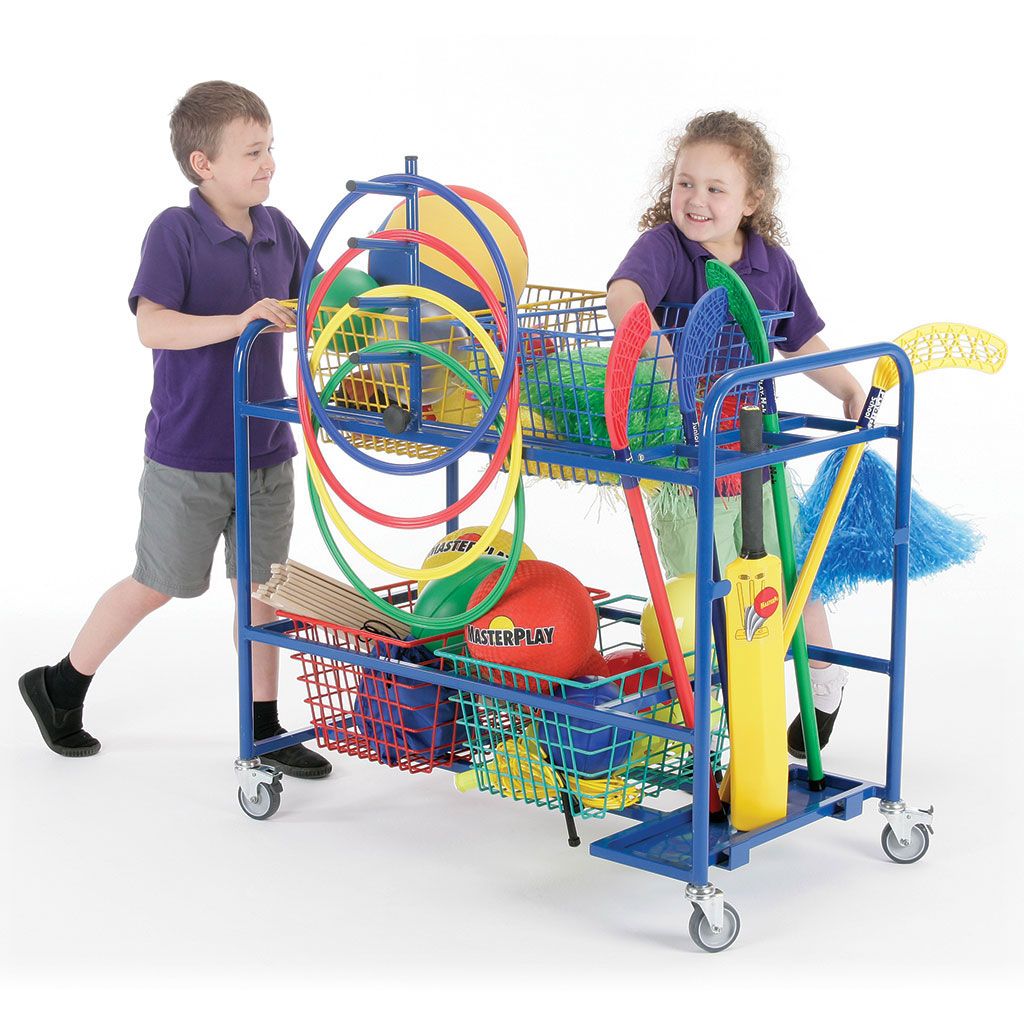 MOBILE BASKET TROLLEY