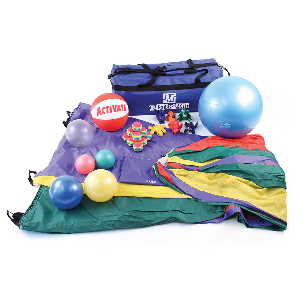 DELUXE PARACHUTE & ACCESSORIES KIT